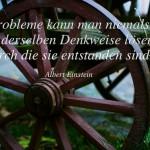 Probleme kann man niemals...