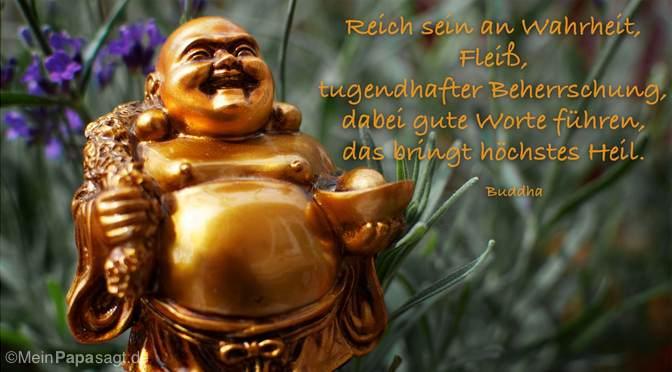 Reich sein an Wahrheit…