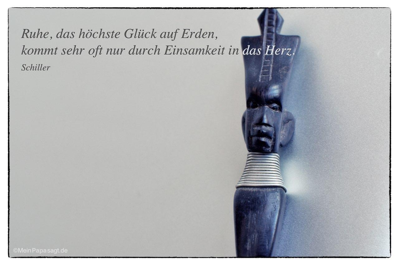Zitat Gluck Schiller Zitate Und Weisheiten