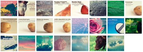 Übersichtsbild. Bilder Galerie mit Weisheiten, Zitate, Sprichwörter und Sprüche Januar 2016