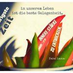 Chili / Chilischoten mit dem Dalai Lama Zitat: Die schwierigste Zeit in unserem Leben ist die beste Gelegenheit, innere Stärke zu entwickeln. Dalai Lama