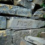 Steine eines alten Hauses