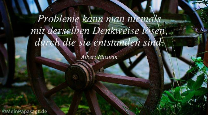 Probleme kann man niemals…