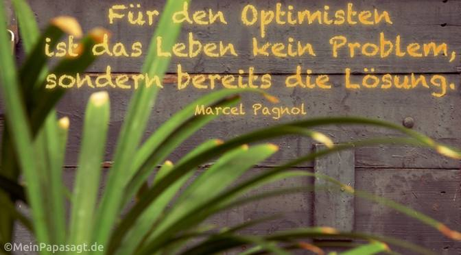 Für den Optimisten…
