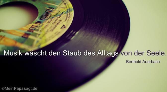 Musik wäscht…