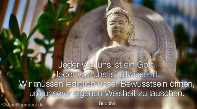Jeder von uns ist ein Gott…