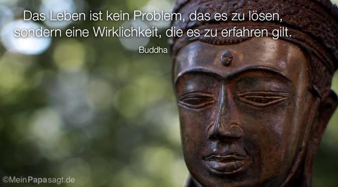 Das Leben ist kein Problem…