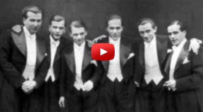 Musik zum Wochenende – Comedian Harmonists