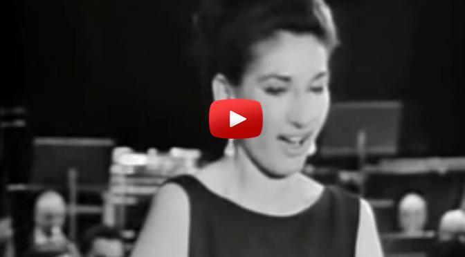 Musik zum Wochenende – Maria Callas