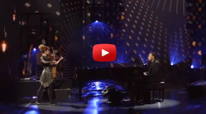 Musik zum Wochenende – John Legend & Lindsey Stirling