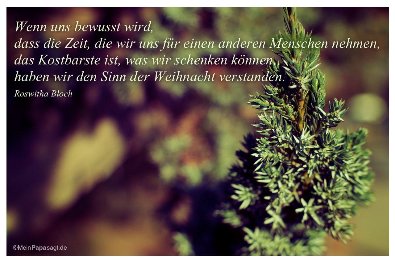 Gedicht weihnachten zeit nehmen