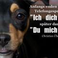 Anfangs enden die meisten Telefongespräche...