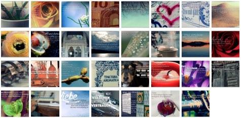 Übersichtsbild. Bilder Galerie mit Weisheiten, Zitate und Sprüche März 2015
