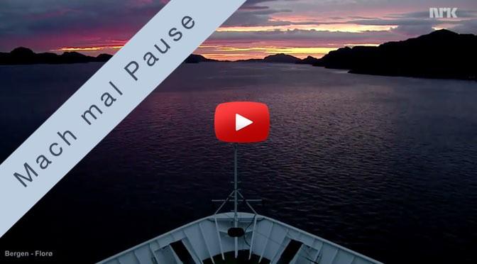 Mach mal Pause <br>auf einem Hurtigrutenschiff