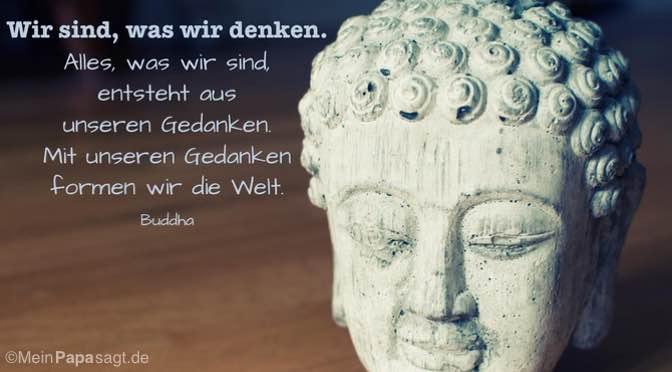 Wir sind, was wir denken…