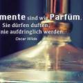 Komplimente sind wie Parfüm...