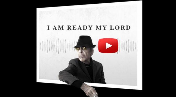 Beitragsbild - Leonard Cohen - You Want It Darker - Musik zum Wochenende