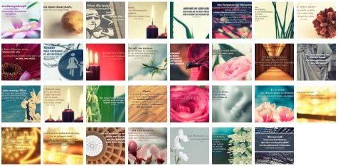 Übersichtsbild. Bilder Galerie mit Weisheiten, Zitate, Sprichwörter und Sprüche des Tages Dezember 2016