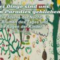 Beitragsbild - Drei Dinge sind uns aus dem Paradies geblieben: Die Sterne der Nacht, die Blumen des Tages und die Augen der Kinder