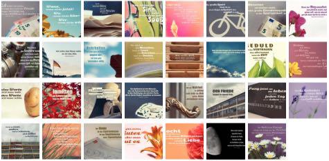 Übersichtsbild. Bilder Galerie mit Lebensweisheiten, Weisheiten, Zitate Bilder, Sprichwörter und Sprüche des Tages Juli 2018
