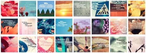 Übersichtsbild. Bilder Galerie mit Lebensweisheiten, Weisheiten, Zitate Bilder, Sprichwörter und Sprüche Bilder des Tages September 2018