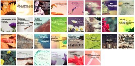 Übersichtsbild. Bilder Galerie mit Lebensweisheiten, Weisheiten, Zitate Bilder, Sprichwörter und Sprüche Bilder des Tages November 2018