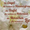 Beitragsbild - Die Engel, die nennen es Himmelsfreud, die Teufel, die nennen es Höllenleid, die Menschen, die nennen es - Liebe!