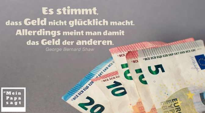 Es stimmt, dass Geld nicht glücklich macht. Allerdings meint man damit das Geld der anderen