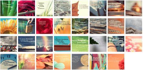 Übersichtsbild. Bilder Galerie mit Lebensweisheiten, Weisheiten, Zitate Bilder, Sprichwörter und Sprüche Bilder des Tages März 2019