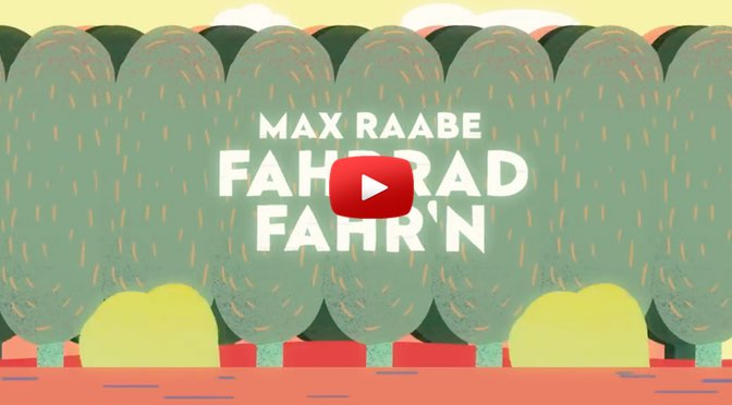 Max Raabe – Fahrrad fahr'n – </br>Musik zum Wochenende