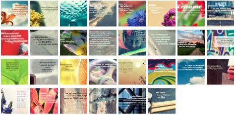 Übersichtsbild. Bilder Galerie mit Lebensweisheiten, Weisheiten, Zitate Bilder, Sprichwörter und Sprüche Bilder des Tages Juni 2019