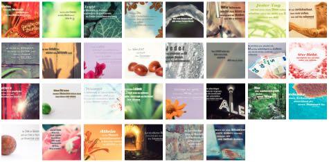 Übersichtsbild. Bilder Galerie mit Lebensweisheiten, Weisheiten, Zitate Bilder, Sprichwörter, Affirmationen und Sprüche Bilder des Tages September 2019