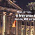 Demokratie: die Regierung des Volkes, durch das Volk und für das Volk - Abraham Lincoln
