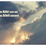 Unwetter Sonnenuntergang mit Seneca Zitate mit Bild: Wo die Natur nicht will, ist die Arbeit umsonst. Lucius Annaeus Seneca