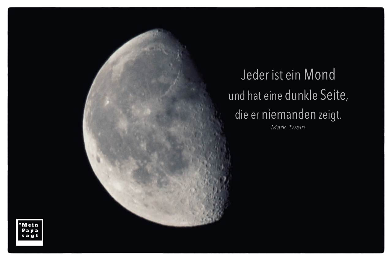 Mond Dunkle Seite