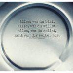Deckel Blechdose mit Pestalozzi Zitate mit Bild: Alles, was du bist, alles, was du willst, alles, was du sollst, geht von dir selber aus. Heinrich Pestalozzi