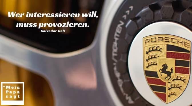 Wer interessieren will, muss provozieren – Salvador Dali