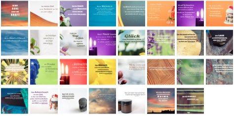 Übersichtsbild - Bilder Galerie mit Lebensweisheiten, Weisheiten, Zitate Bilder, Sprichwörter, Affirmationen und Sprüche Bilder des Tages Dezember 2020