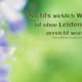 Nichts wirklich Wichtiges ist ohne Leidenschaft erreicht worden - Georg Wilhelm Friedrich Hegel