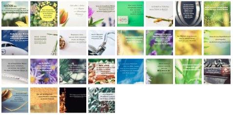 Übersichtsbild - Bilder Galerie mit Lebensweisheiten, Weisheiten, Zitate Bilder, Sprichwörter, Affirmationen und Sprüche Bilder des Tages Februar 2021